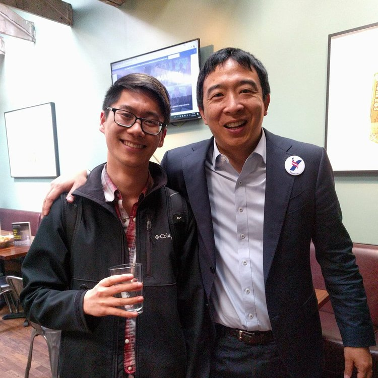 Andrew Yang, Dreams, and Tacos – Meeting with the ... Andrew Yang