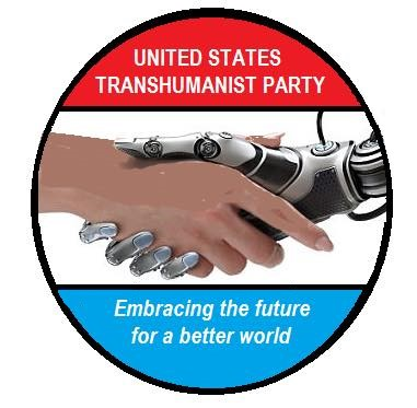 United States Transhumanist Party Logo by Charlie Kam
