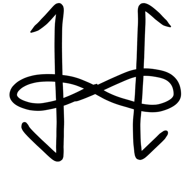 Transhumanist Symbol by Art Ramon - Version 3