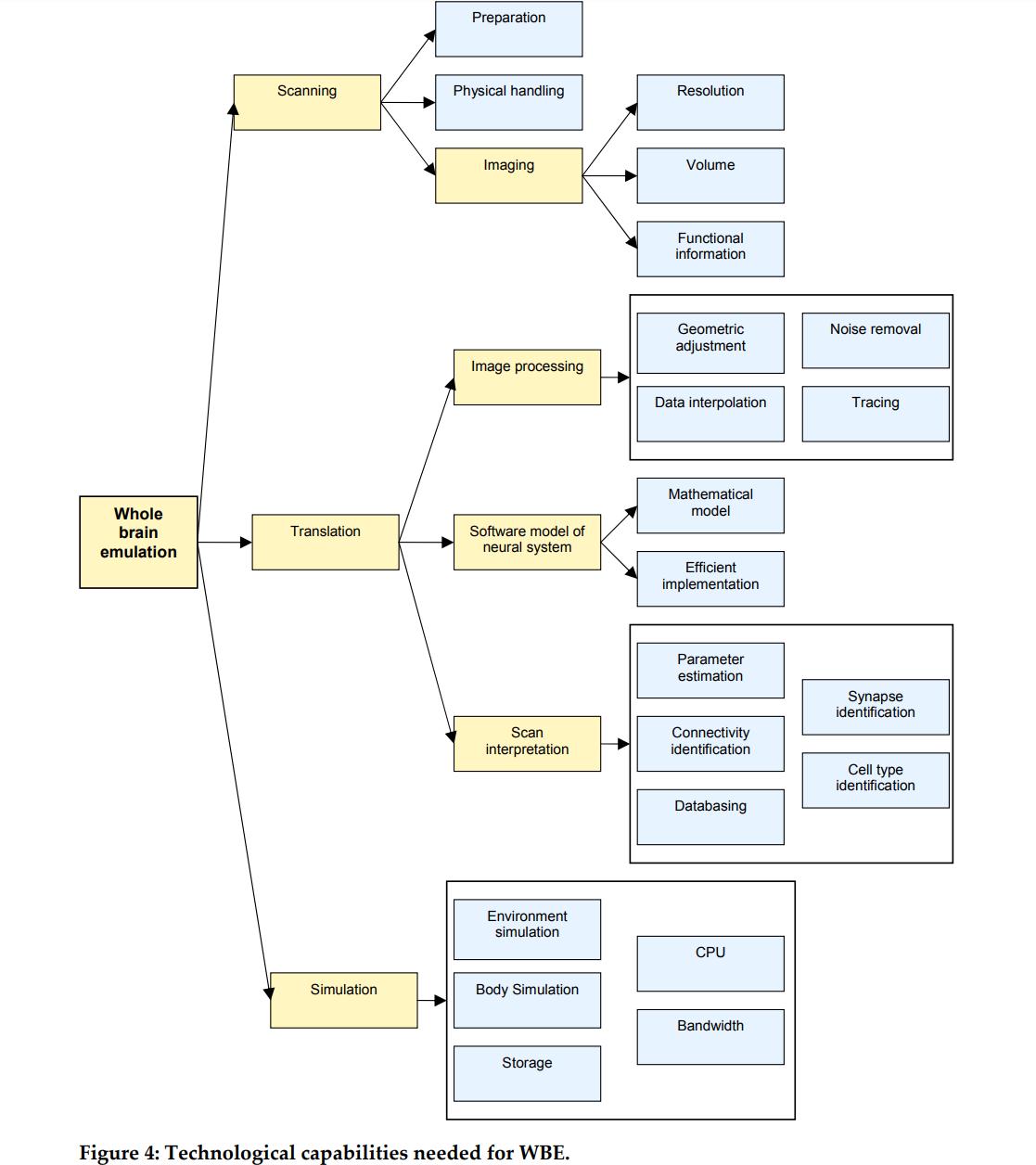 Tech tree from Sandberg & Bostrom, 2008